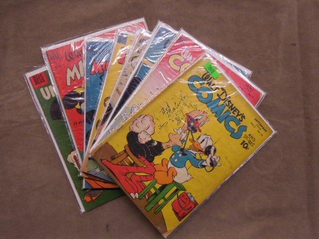 Lot of Disney Themed Comic Books
