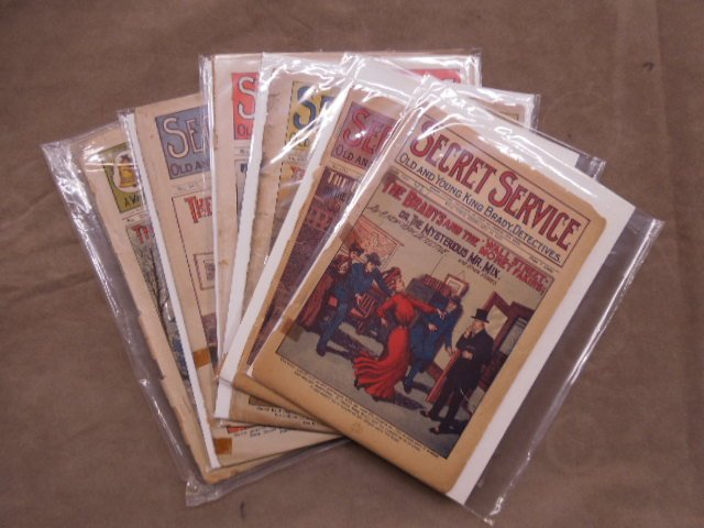 Platinum Age Pulp Magazines