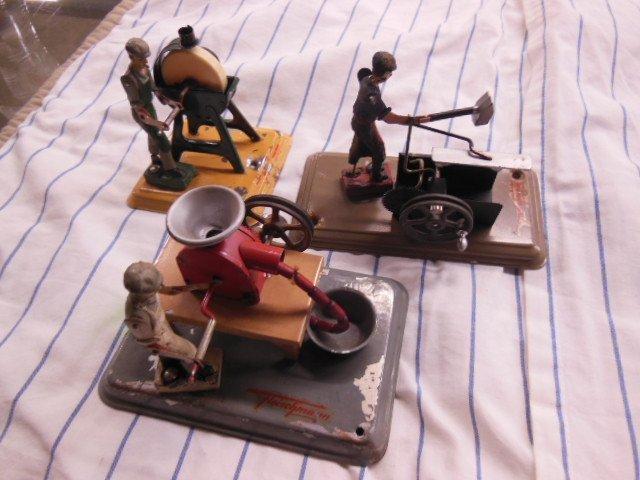 3 Fleischman Steam Mechanicals