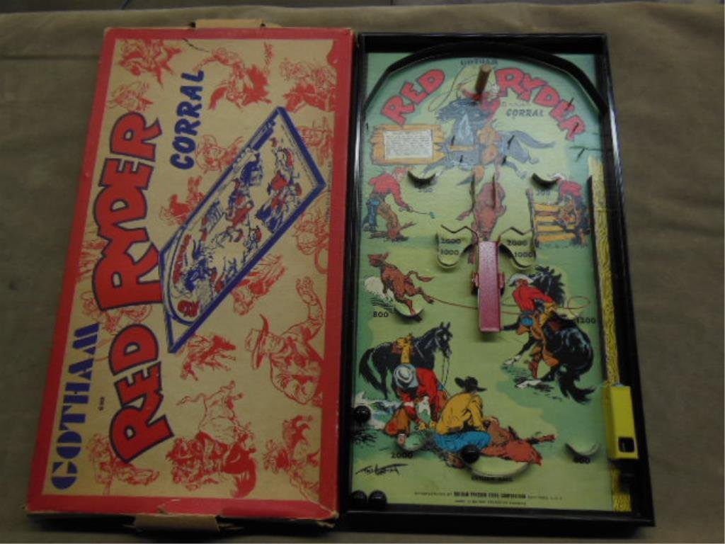 Red Ryder Coral Bagatelle Game
