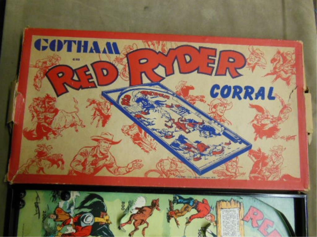Red Ryder Coral Bagatelle Game - 3