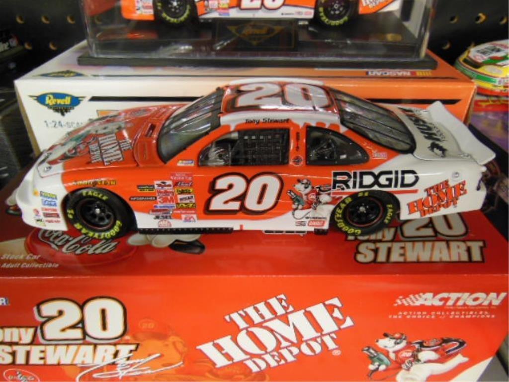 2 Tony Stewart 1:24 Diecast Stock Cars - 2