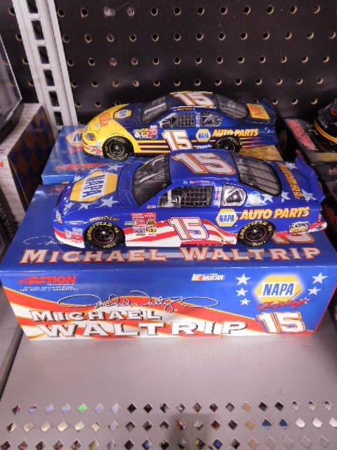 2 Michael Waltrip Diecast Stock Cars