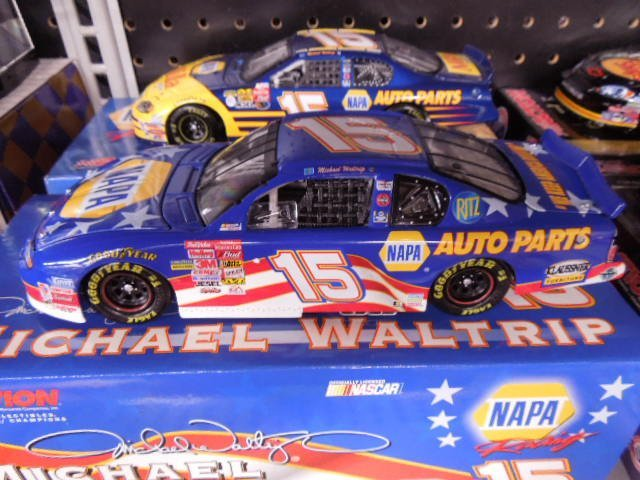 2 Michael Waltrip Diecast Stock Cars - 2