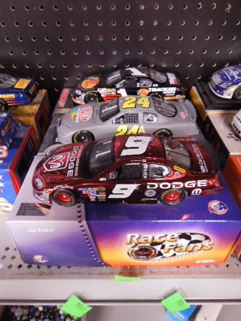 3 Diecast Limited Edition Stock Cars