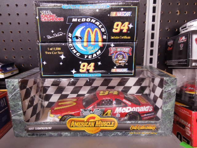 Racing Champions 2 Car McDonald's Diecast Cars
