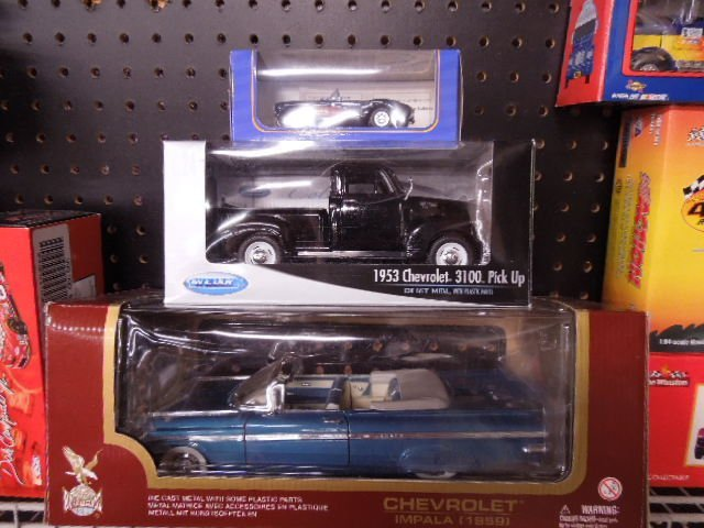 3 Diecast Collector Cars