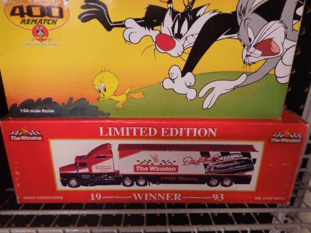 3 Nascar Fuel and Car Carrier Trucks - 3