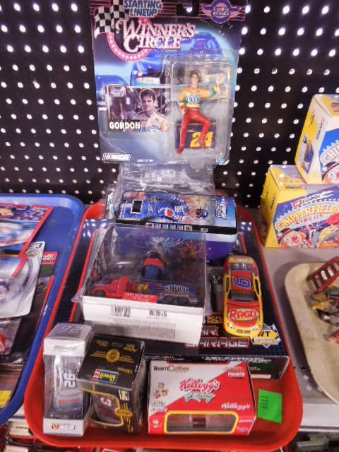 Lot of Assorted Nascar Collectibles
