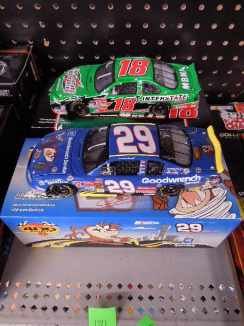 2 Diecast Scale Stock Cars