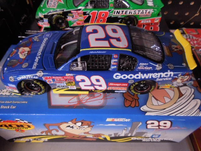 2 Diecast Scale Stock Cars - 2