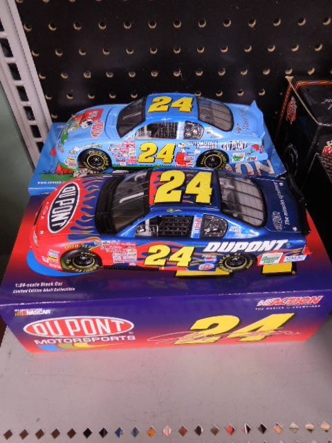 2 Jeff Gordon Diecast Stock Cars
