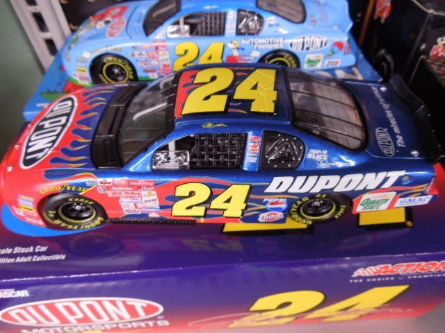 2 Jeff Gordon Diecast Stock Cars - 2