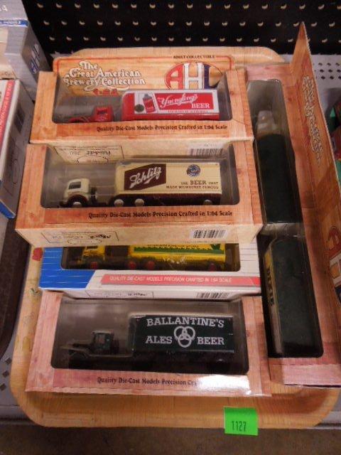 7 Assorted American Highway Legend Trucks