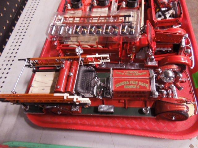 6 Die Cast Fire Trucks - 3