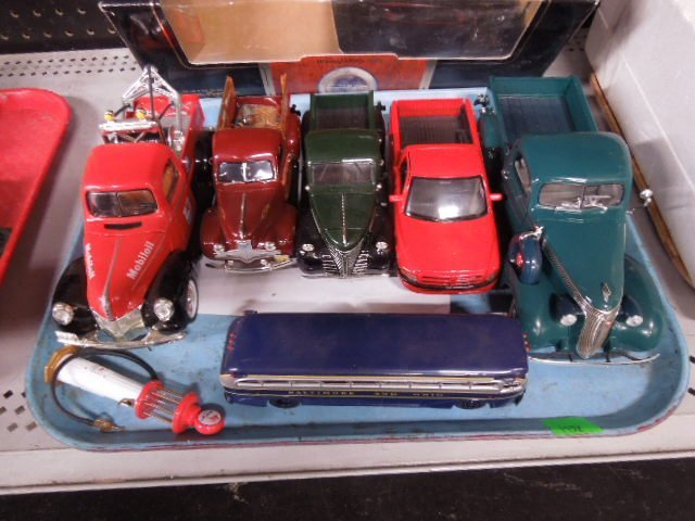 5 Assorted Diecast Trucks