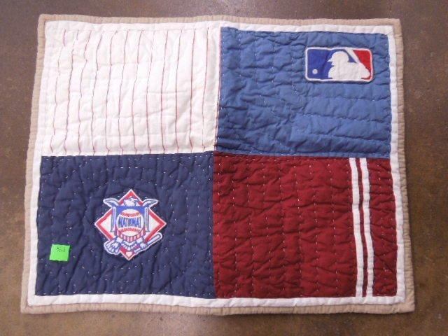 Quilt w/MLB Team Logos - 6