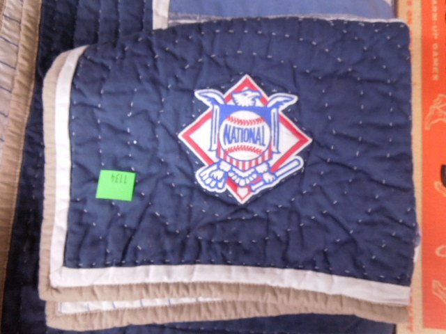 Quilt w/MLB Team Logos - 7