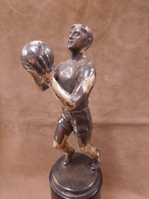 1930s Figural Basketball Trophy - 2