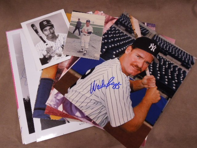Baseball H.O. F. Player Signed Photos
