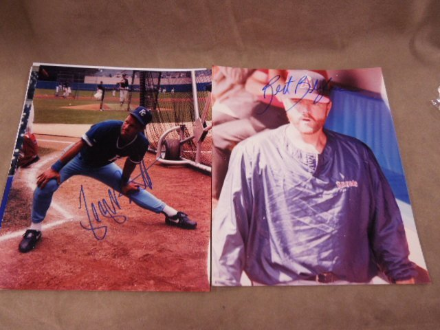 Baseball H.O. F. Player Signed Photos - 4