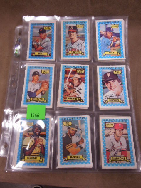 1974 Kellogg's 3-D Baseball Cards