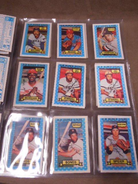 1974 Kellogg's 3-D Baseball Cards - 3