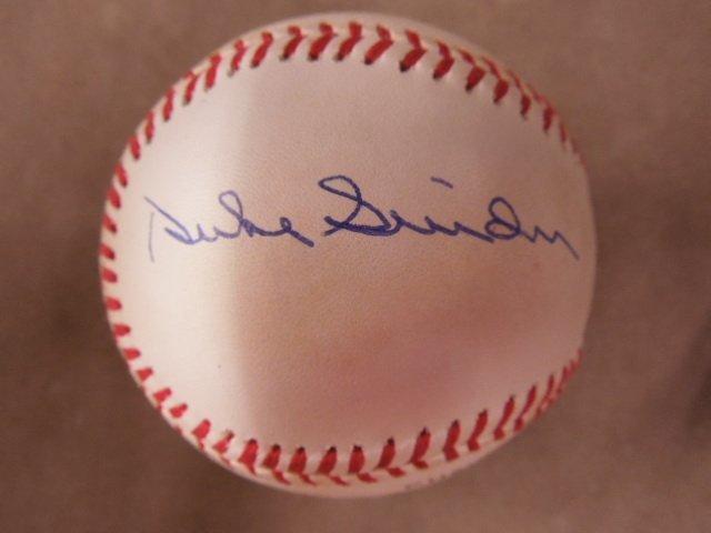 Mays & Mantle Signed Baseball - 5