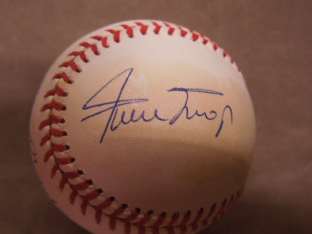 Mays, Mantle & Snider Signed Baseball - 3