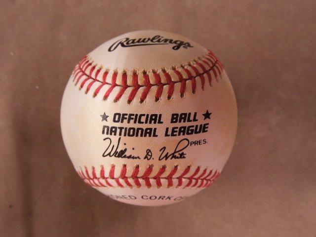Mays, Mantle & Snider Signed Baseball - 4