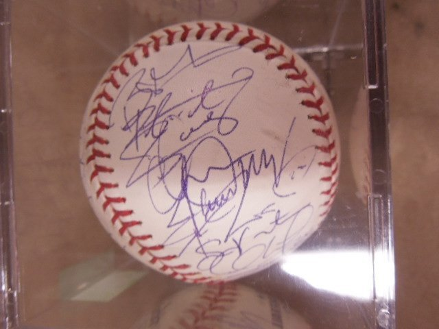 2008 Philadelphia Phillies Signed Baseball