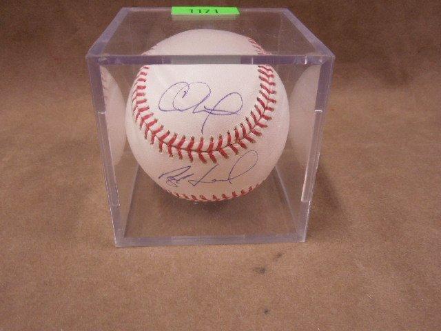 Hamels / Halladay / Oswalt Signed Baseball