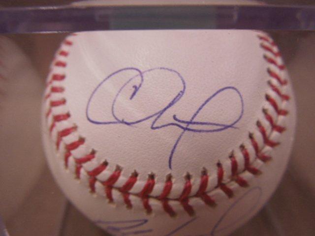Hamels / Halladay / Oswalt Signed Baseball - 2