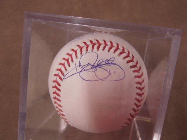 Hamels / Halladay / Oswalt Signed Baseball - 4
