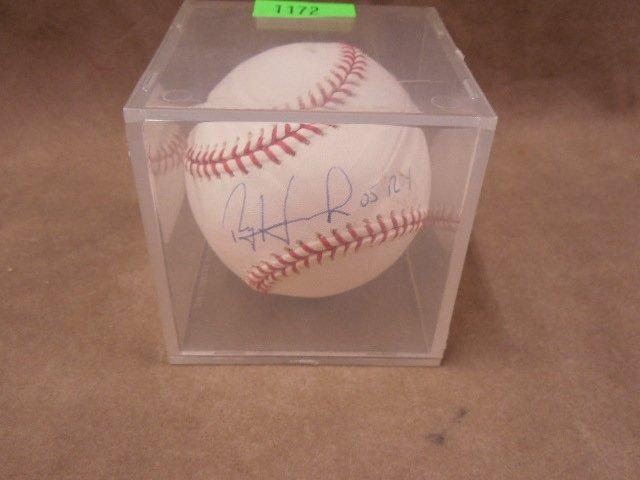 Ryan Howard Signed Baseball