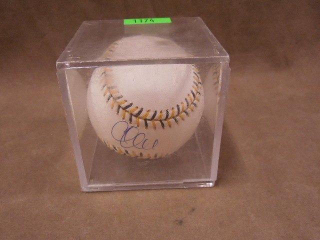 Chase Utley Signed Baseball