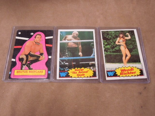 Vintage Boxing & Wrestling Cards - 2