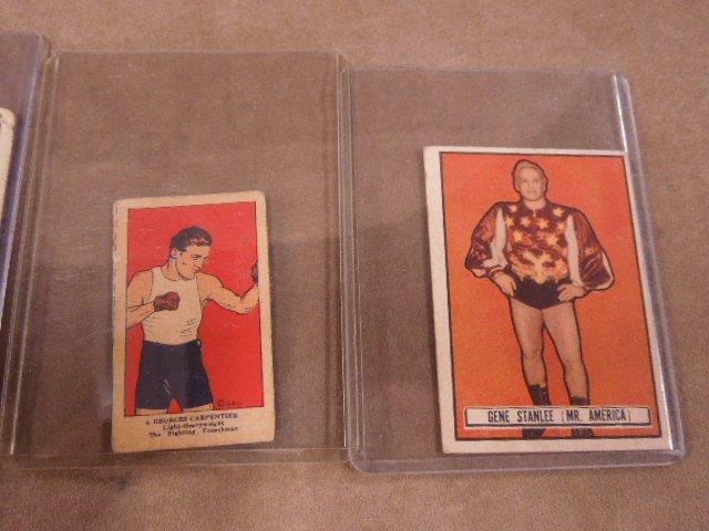 Vintage Boxing & Wrestling Cards - 4