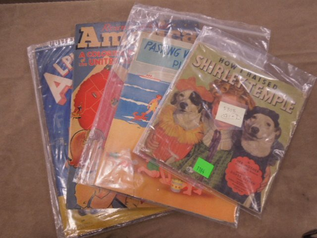 Vintage Coloring Books and Other