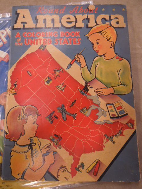 Vintage Coloring Books and Other - 4