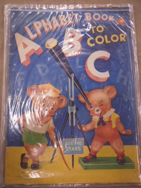 Vintage Coloring Books and Other - 5