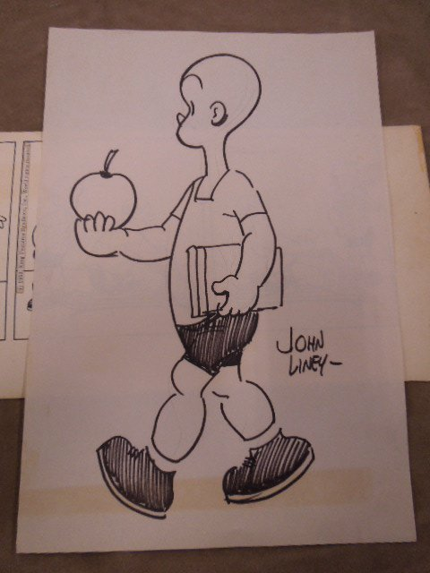 John Liney Henry Comic Strip Art - 2