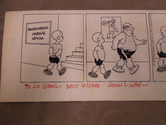 John Liney Henry Comic Strip Art - 4
