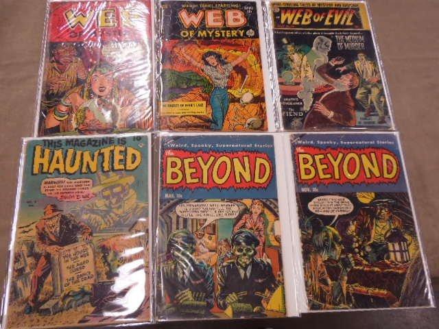 Lot of Horror & Suspense Comic Books