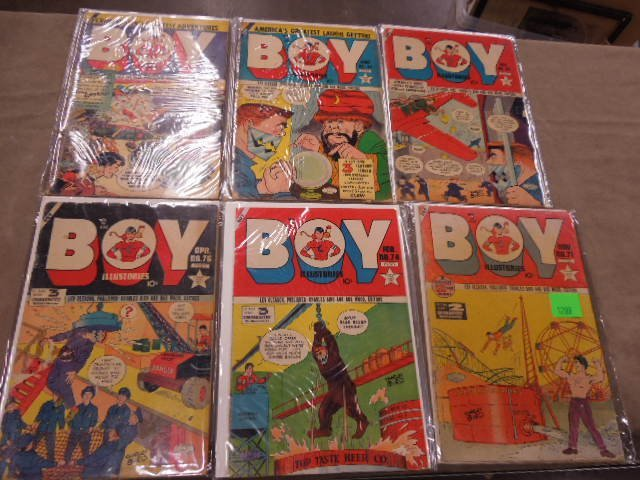 Lot Golden Age Comic Books - 2
