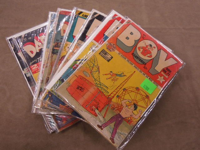 Lot Golden Age Comic Books - 3