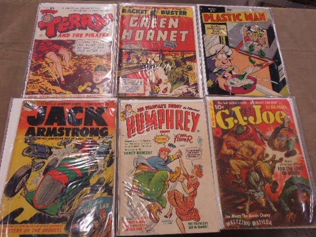 Lot Golden Age Comic Books