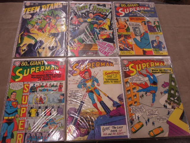 Lot of DC Comics Comic Books