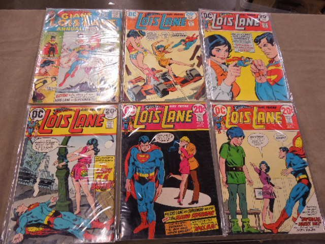 Lot of Lois Lane Comic Books
