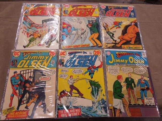 Lot of Jimmy Olsen Comic Books